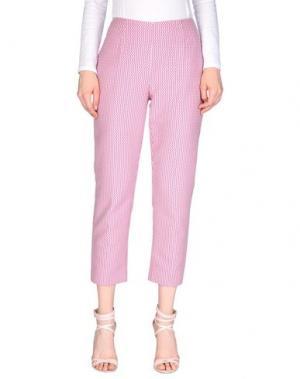 Повседневные брюки FABERGE&ROCHES. Цвет: фуксия