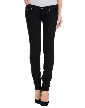 Джинсовые брюки BAD SPIRIT. Цвет: черный