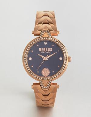 Versus Versace Наручные часы цвета розового золота SPCI38. Цвет: золотой