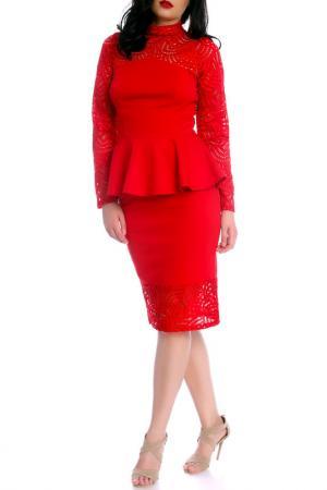 Blouse Moda di Chiara. Цвет: red