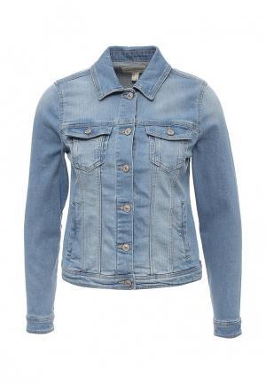 Куртка джинсовая Springfield. Цвет: голубой