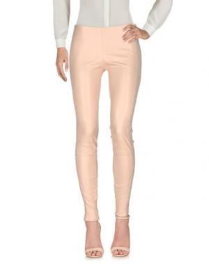 Повседневные брюки APHERO. Цвет: телесный