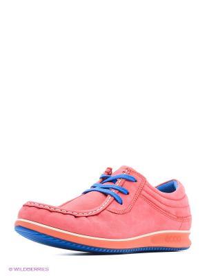 Ботинки ECCO. Цвет: розовый