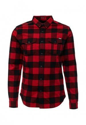Рубашка Superdry. Цвет: красный