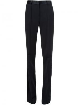 Классические брюки Adam Lippes. Цвет: чёрный