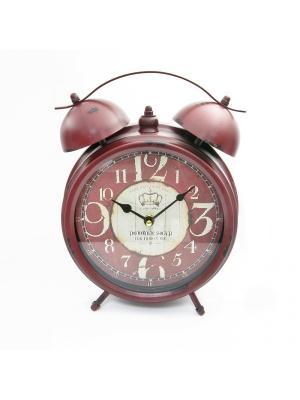 Часы настольные ArteNuevo. Цвет: бордовый