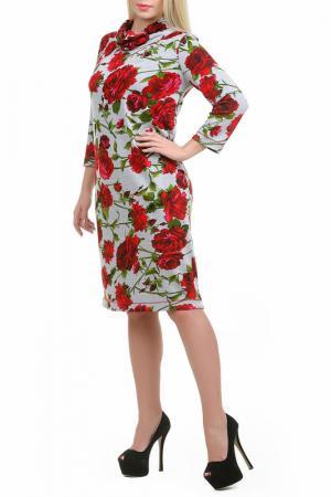 Платье Розель LESYA. Цвет: красный