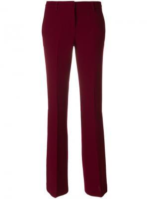 Строгие брюки клеш LAutre Chose L'Autre. Цвет: красный