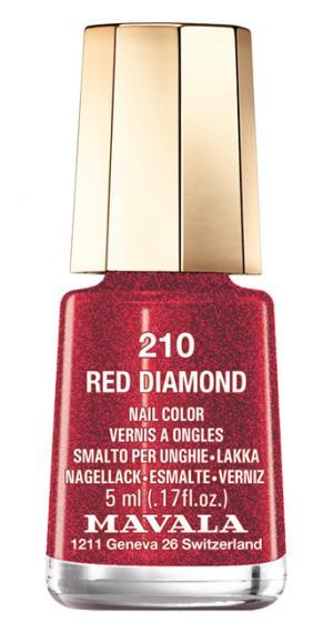 Лак для ногтей Mavala Red Diamond. Цвет: red diamond