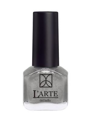 Лак для ногтей MINI LARTE, 3425 L'arte del bello. Цвет: серебристый