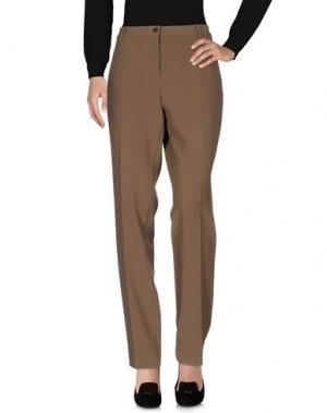 Повседневные брюки L.P. di L. PUCCI. Цвет: зеленый