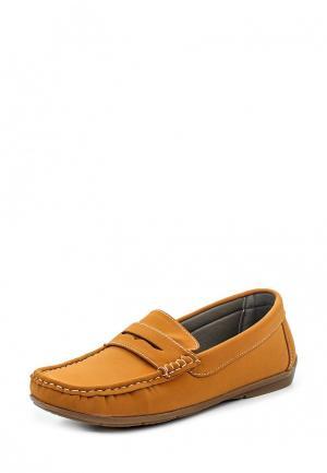 Мокасины WS Shoes. Цвет: коричневый