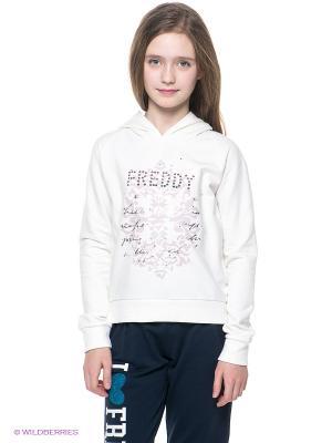 Худи Freddy. Цвет: молочный
