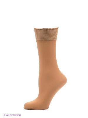 Носки, 2 пары Cecilia de Rafael. Цвет: бежевый