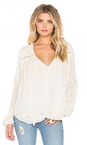 Блузка mimi Love Sam. Цвет: ivory