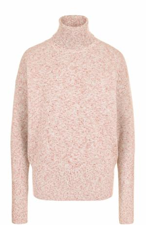 Шерстяной свитер свободного кроя Victoria Beckham. Цвет: светло-розовый