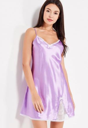 Сорочка ночная Belweiss. Цвет: фиолетовый