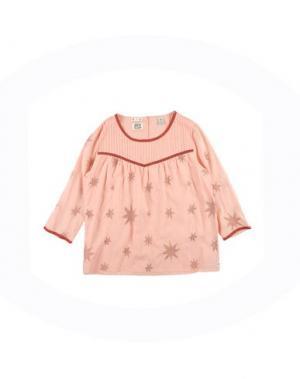 Блузка SCOTCH R'BELLE. Цвет: лососево-розовый