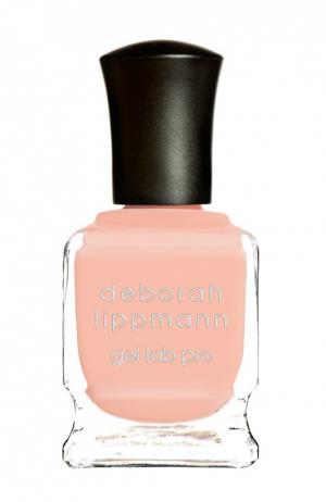 Лак для ногтей Peaches & Cream Deborah Lippmann. Цвет: бесцветный