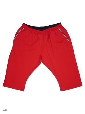 Капри IFC. Цвет: красный, темно-синий