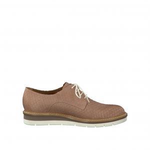 Ботинки-дерби TAMARIS. Цвет: розовый