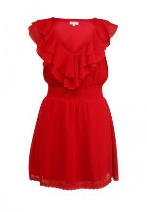 Платье Girlondon. Цвет: красный
