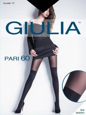 Фантазийные колготки PARI 17 Giulia. Цвет: черный