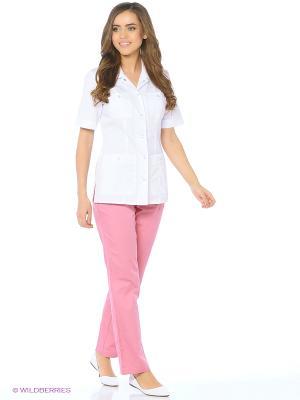 Куртка медицинская Med Fashion Lab. Цвет: белый