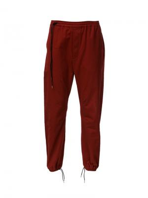 Drop crotch pants Siki Im. Цвет: красный
