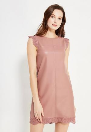 Платье Love Republic. Цвет: коралловый