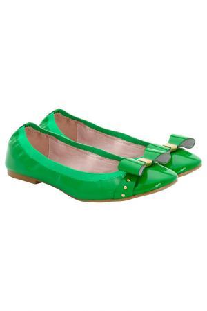 Балетки Apart. Цвет: зеленый
