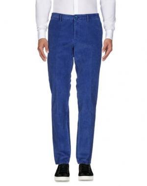 Повседневные брюки DIMATTIA. Цвет: лазурный