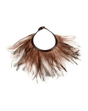 Ожерелье VALENTINO GARAVANI. Цвет: коричневый