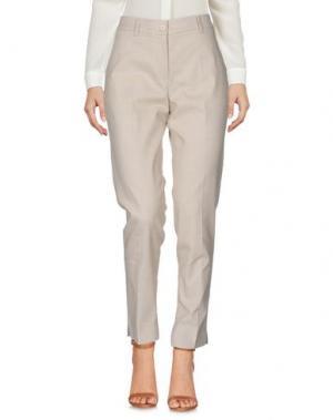Повседневные брюки SCAGLIONE CITY. Цвет: бежевый
