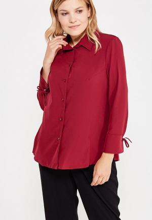 Блуза Lina. Цвет: бордовый
