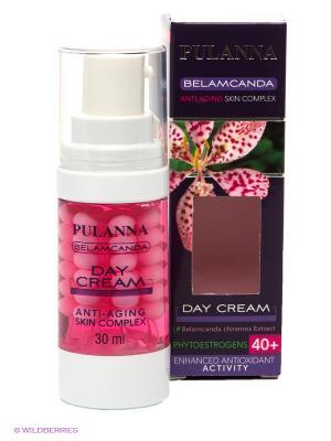 Дневной крем против морщин с фитоэстрогенами -Day Cream, 30 мл PULANNA. Цвет: розовый, прозрачный