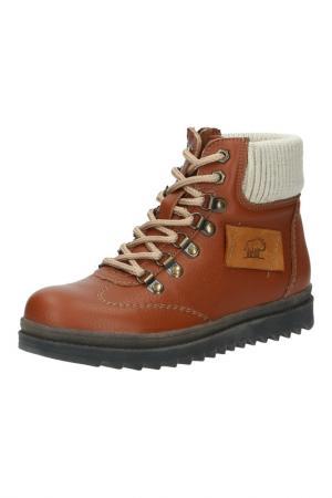 Ботинки Destra. Цвет: светло-коричневый