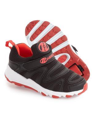 Роликовые кроссовки Heelys Rapido 770706 (13C). Цвет: черный, красный, белый