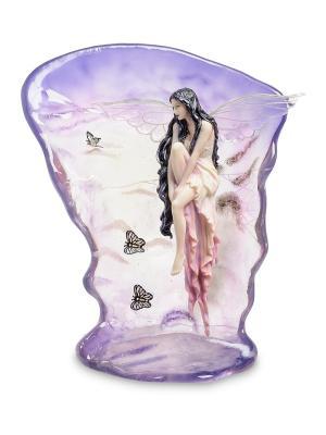 Статуэтка в стиле Фэнтези Невесомая красота (Селина Фенек) Veronese. Цвет: белый, сиреневый