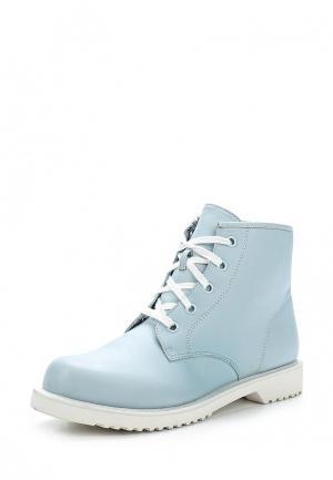 Ботинки Shellys London. Цвет: голубой