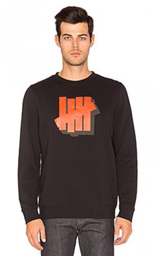 Пуловер shadowed strike Undefeated. Цвет: черный