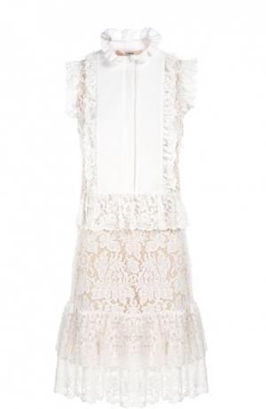 Платье Erdem. Цвет: белый