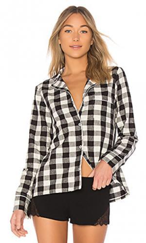Пижамная куртка lucienne Skin. Цвет: черный