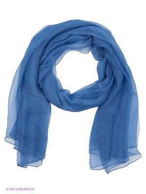 Платок Vita pelle. Цвет: синий
