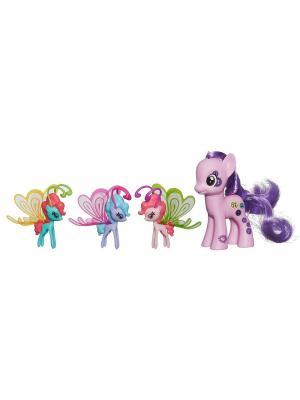Пони Делюкс с волшебными крыльями Hasbro. Цвет: розовый, антрацитовый