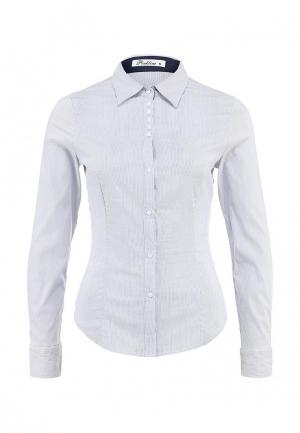 Блуза Pinkline. Цвет: голубой