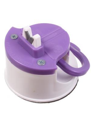 Точилка для ножей на присоске, фиолетовая Радужки. Цвет: фиолетовый