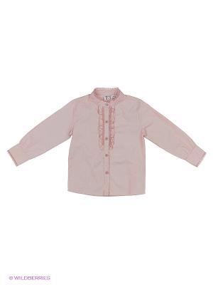 Блузка JERRY JOY. Цвет: оранжевый