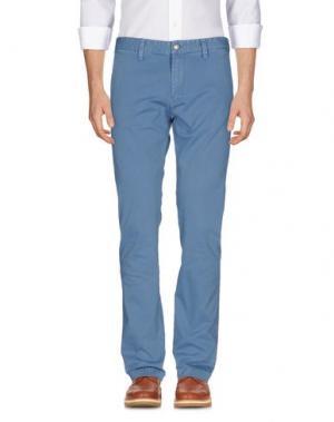 Повседневные брюки RA-RE. Цвет: пастельно-синий