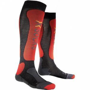 Термо-Носки X-Socks. Цвет: anthracite/red